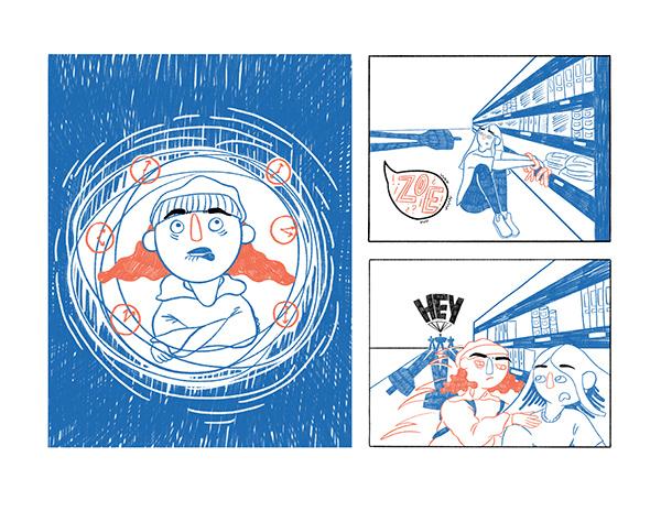 REM - illustrated zine