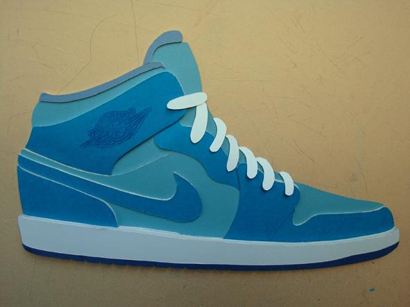 air jordan shoe poster texting