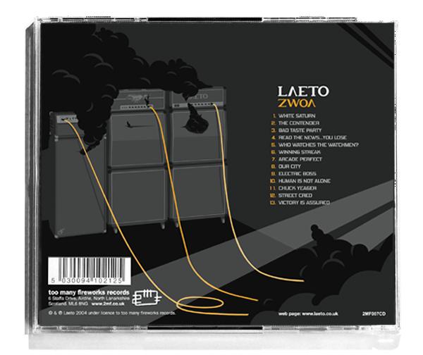 Laeto Zwoa Album cover case back
