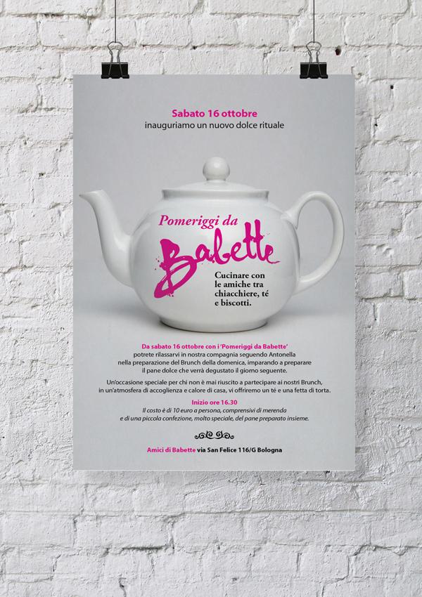 Amici di Babette - Scuola di cucina - Poster on Pantone Canvas Gallery