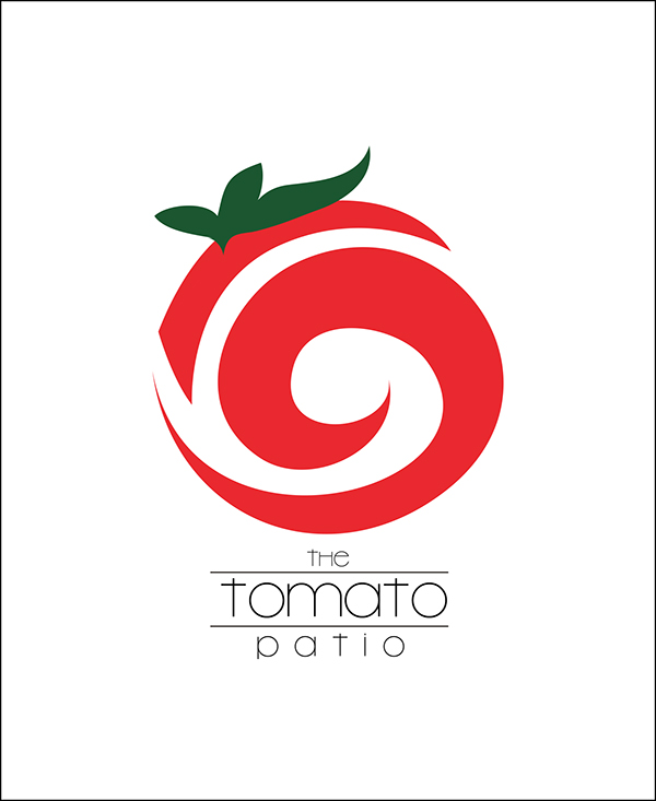 The Tomato Patio Logo ... Tomato Logo