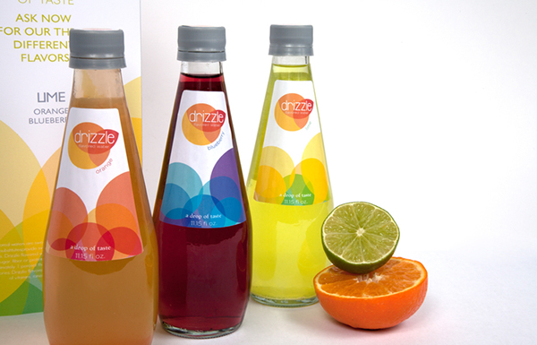 Drizzle // Flavored Water on Behance