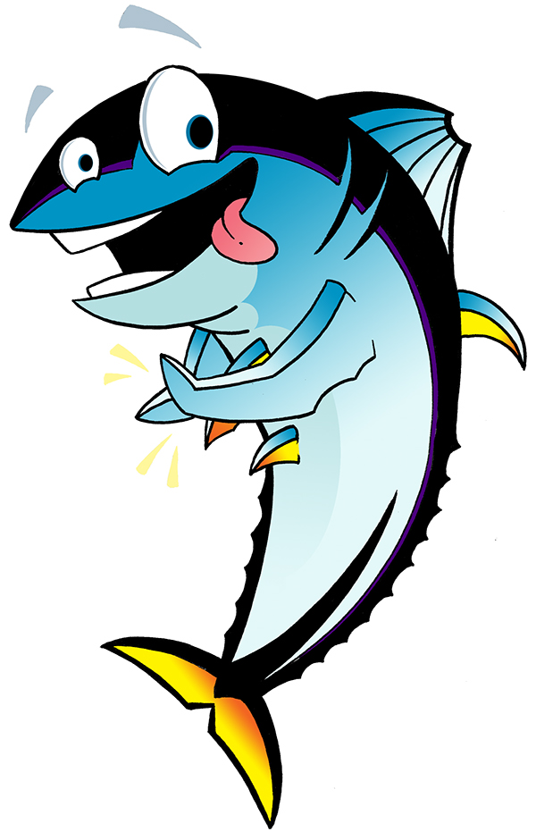 Trevor The Tuna On Behance