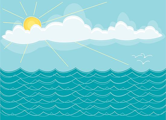 ... scene Stock Illustrations. 5,979 Ocean scene clip art images and