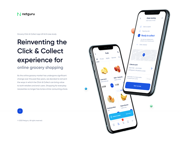 Click & Collect - Reinventing Online Grocery Experience