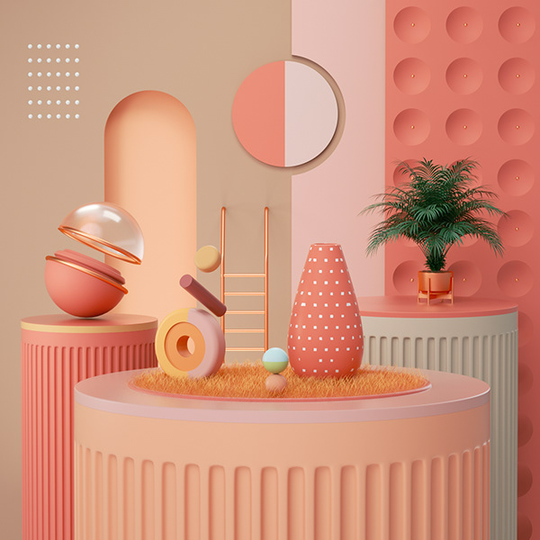 3D Illustration Collection