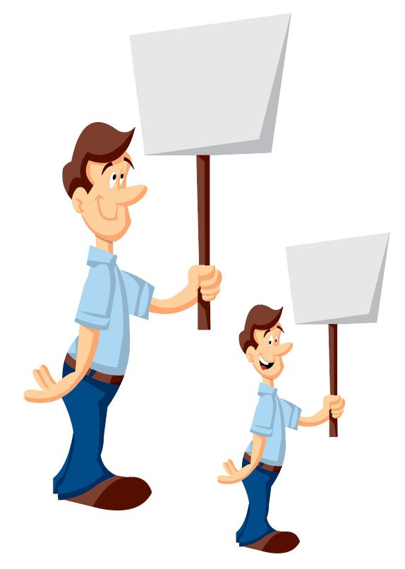 mascote cartoon quadrinhos corporativos Comunicação Interna fundionários