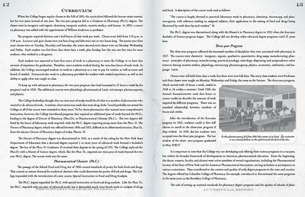 liu College of Pharmacy history