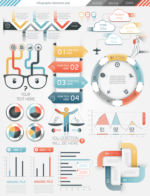 Infographic Elements on Behance