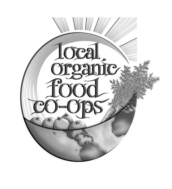 Local Organic Food Co Op Logo On Behance