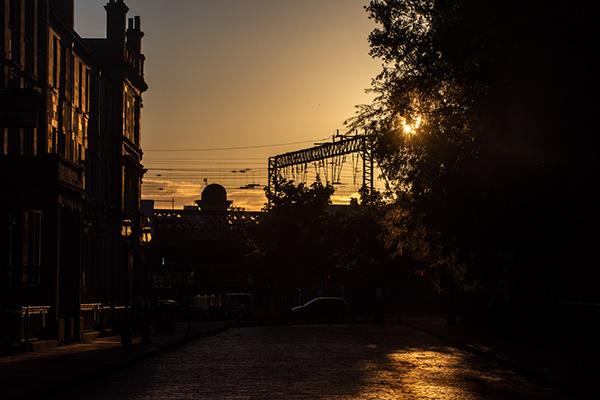 Empty sunset