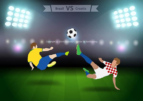 american football versus soccer