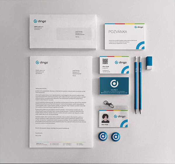 logo identity print