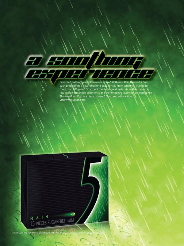 5 Gum Advertisement 5 Gum Magazine Advertisements