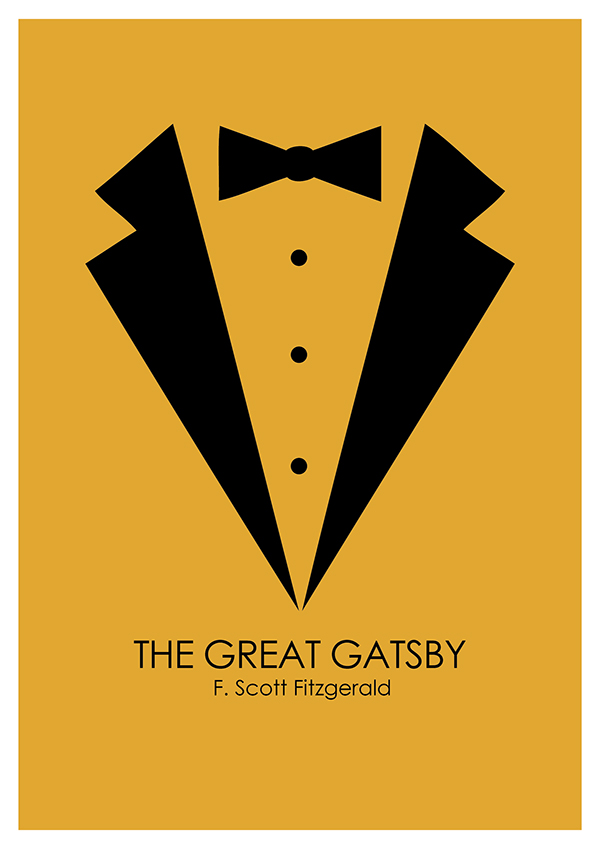 Great Gatsby Book Cover Ideas : Great gatsby book cover design on behance