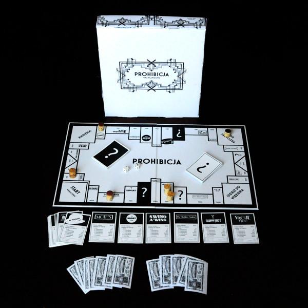 Prohibicja Board Game Design On Behance - Board game design