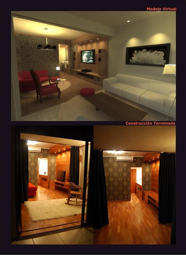 Muebles Para Baño Santa Fe:Sala de Audio y Video + Baño + Antebaño + Muebles de Ma on Behance