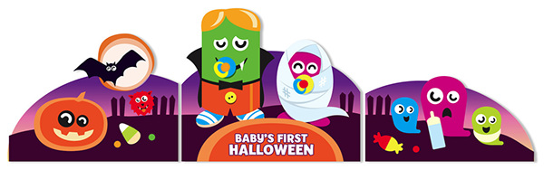 babyfied version was designed for babiesrus stores - Halloween Toys R Us