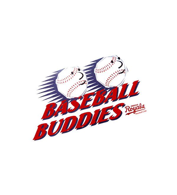 Omaha Royals Baseball Buddies Kids' Club Logo On Behance