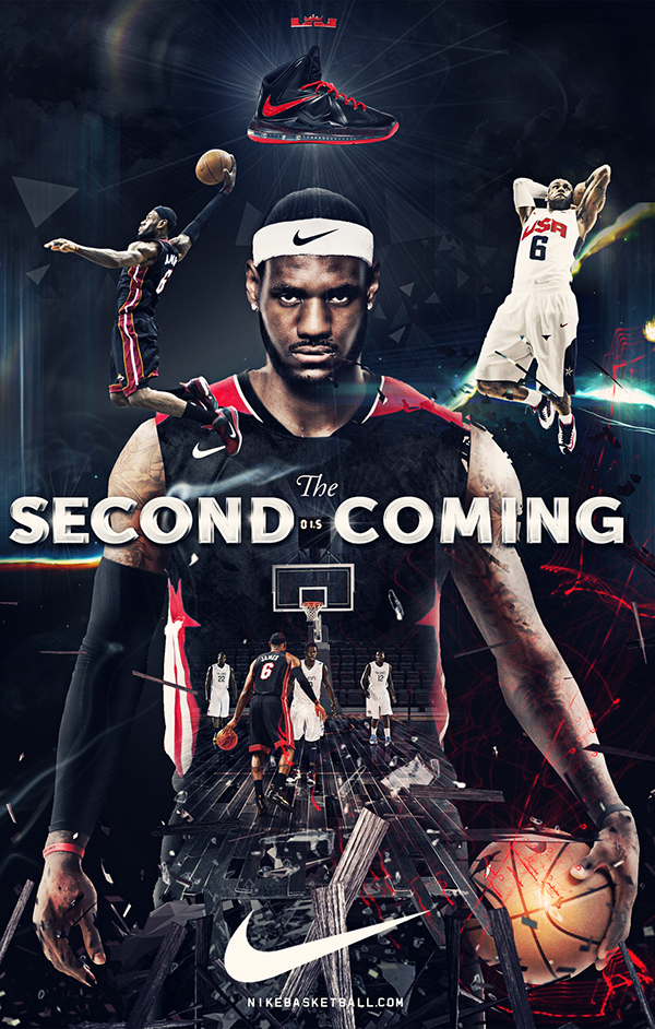 Nike Lebron James Second Coming On Behance