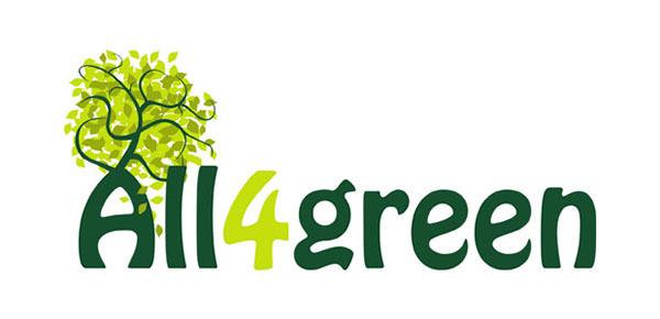 Logotipo,all4green,Europe,7TH