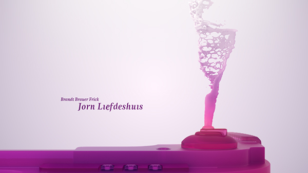 Insomnia festival techno culture Tromsø norway toxic fluids simulation pink 3D kim holm Candy plastic