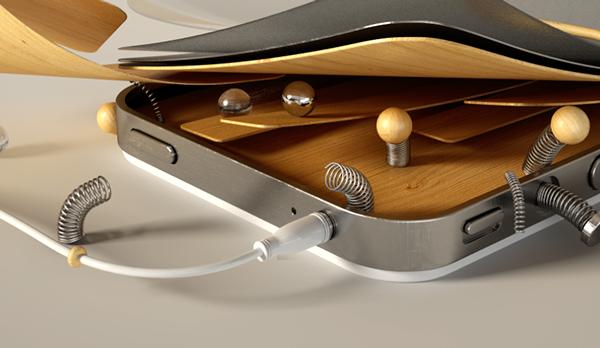 iphone 3D Cinema vray andy reisinger serial cut plenty argentina buenos aires madrid wood apple phone