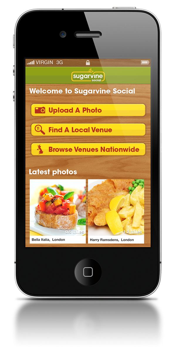 Sugarvine Social Mobile App & Website