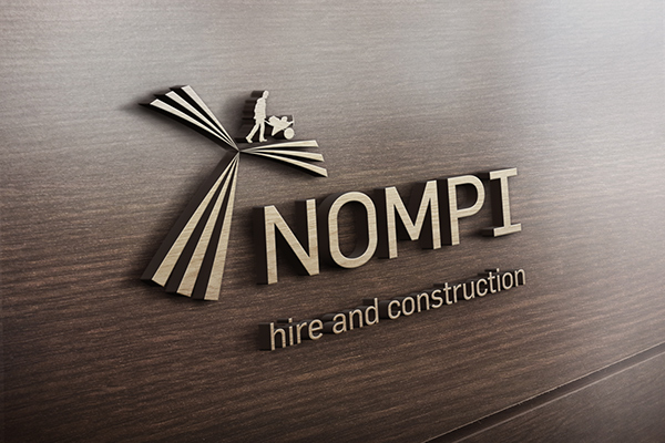 The Aim Of This Design Was To Try And Have A Look At How Companys Logo Would Once Mounted On Wooden Wall Premises Company