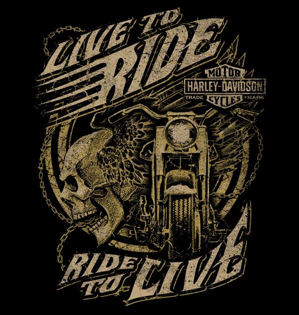 Harley Davidson Inspired Shirt