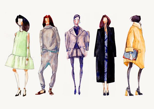 優秀的49個時尚插畫欣賞