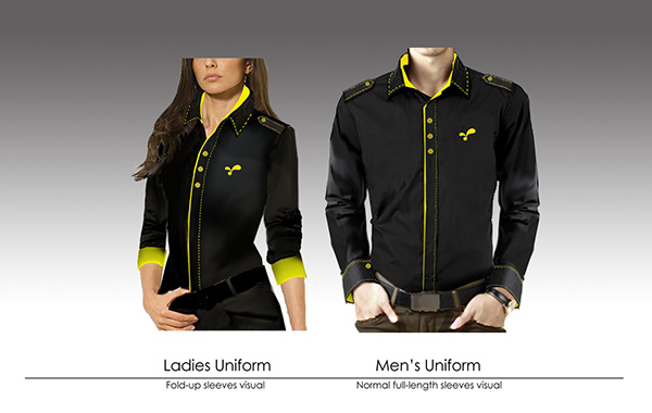 Corporate uniform design on behance for Corporate t shirt designs