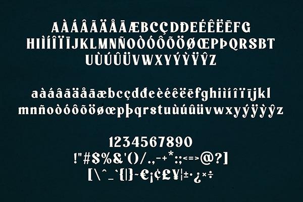 Paschal Dumont - a Sans/Serif Font Duo