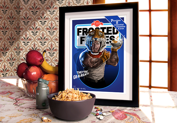 photoshoot photgraphy photoshop Cereal series breakfast captain crunch Tony Trix count chocula jieying print