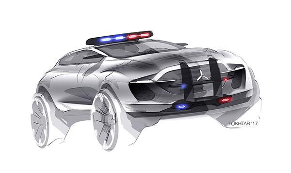高質感的20個概念車草圖設計欣賞