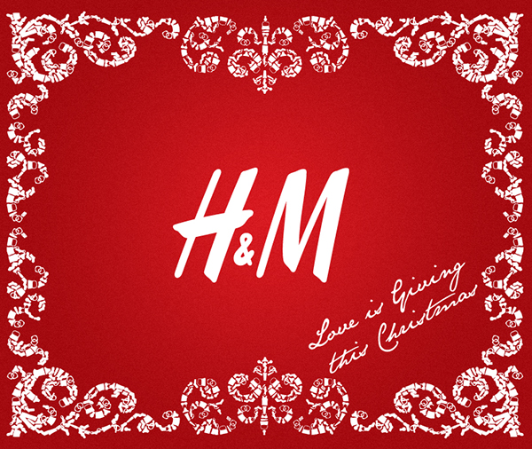 hm christmas on behance - Hm Christmas