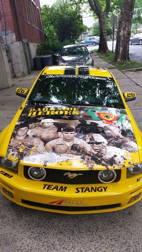 Mustang Wrap