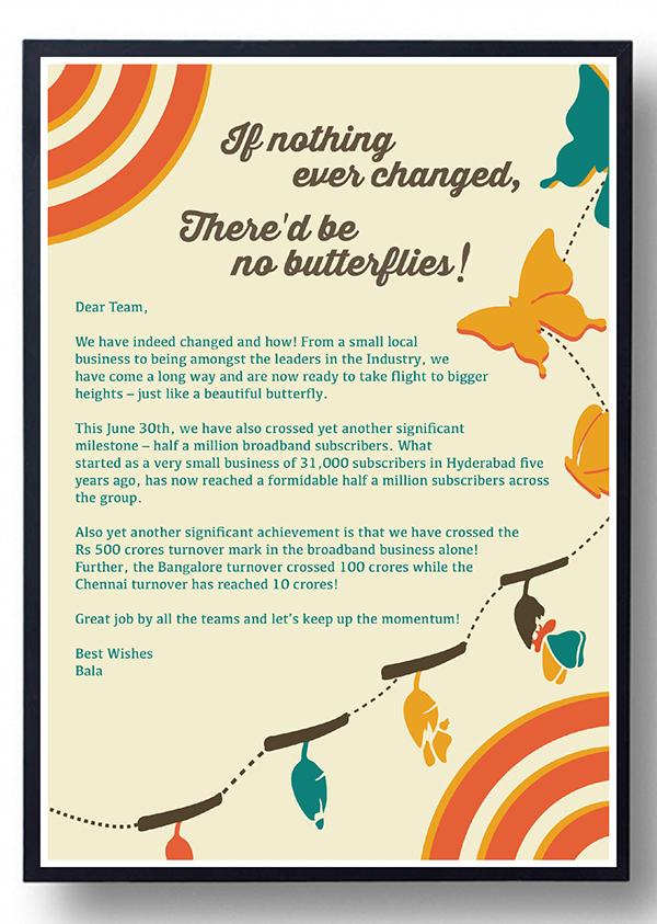 ACT Broadband Milestone Creative on Pantone Canvas Gallery