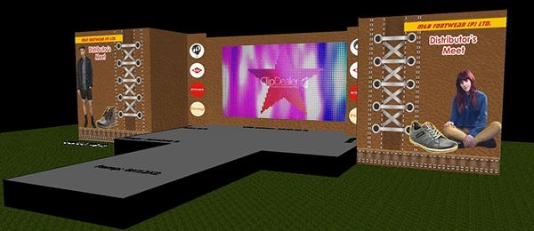 Stage Setup Design Stage Setup For M&b Footwear