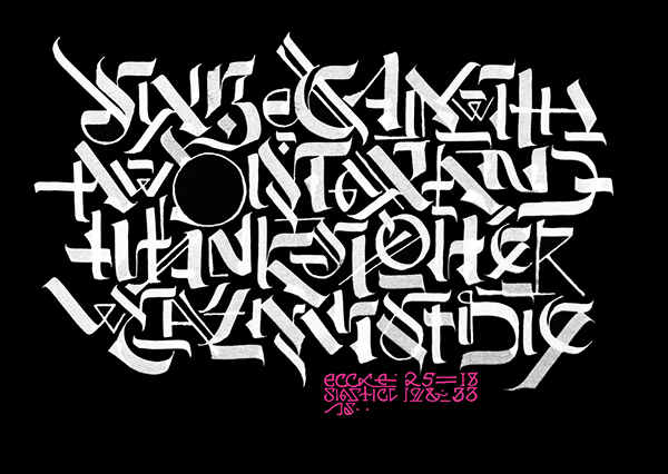 Calligraphy Collection Year Two On Behance