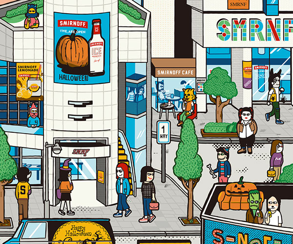 Smirnoff Halloween Project
