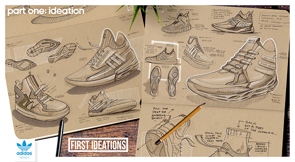 6071d1dec171 ADIDAS DESIGN TASK. PART ONE BASKETBALL INSPIRED FOOTWEAR    3 CONCEPTS
