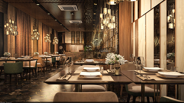 Restaurant-cafe concept