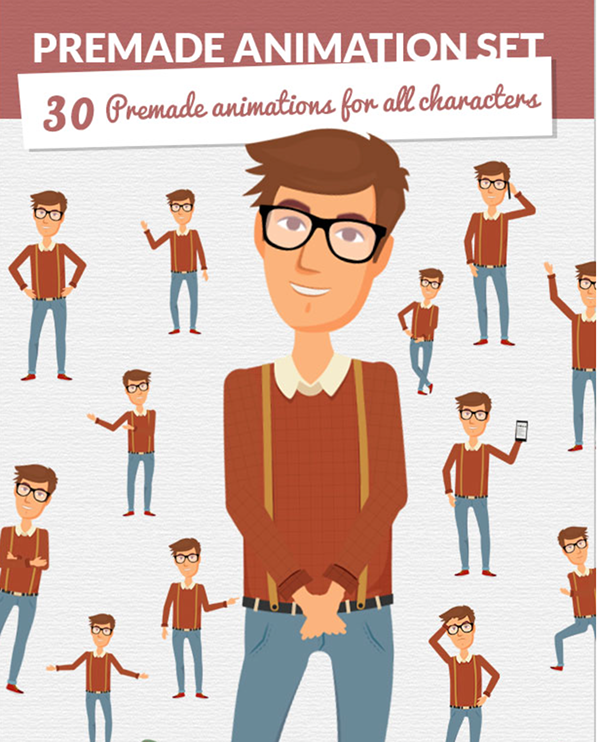 Character Design Animation Toolkit After Effects Project : Character city version on behance