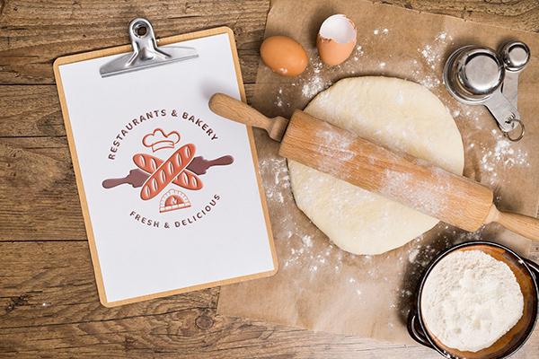 Bakery, Food &RestaurantLogoFolio - Logo Design.