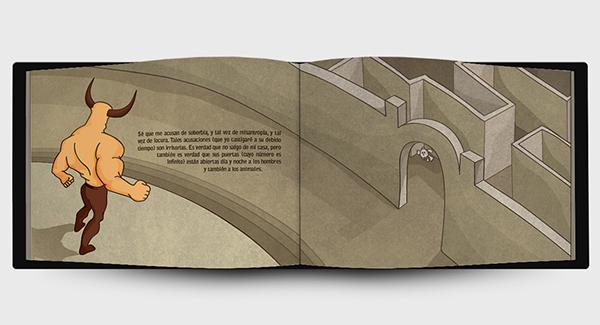 libro lbum la casa de asteri n on behance. Black Bedroom Furniture Sets. Home Design Ideas