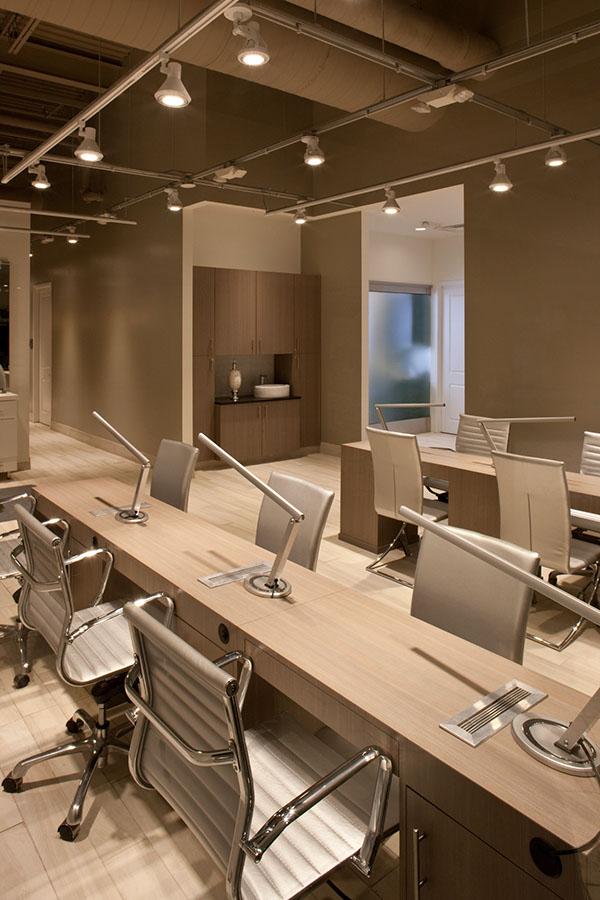 Award winning interior design tricho salon spa on behance for Award winning interior design