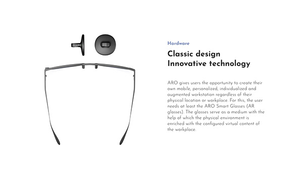 ARO - Augmented Reality Glasses and Interfaces