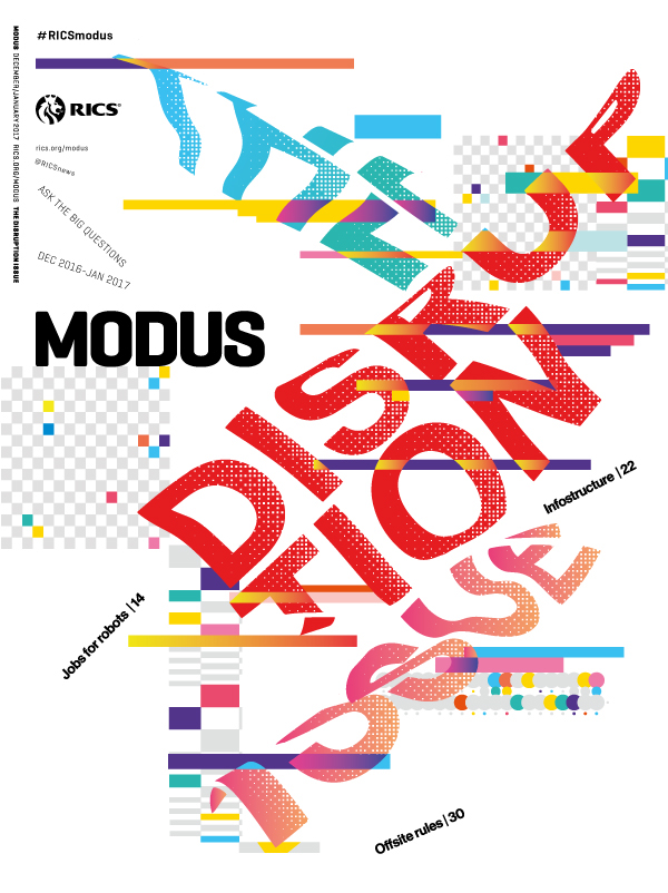 poster typography   colorful Glitch cover magazine distort gradient