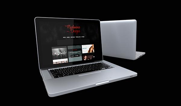 HTML portfolio css wordpress